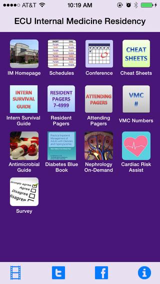 ECU Internal Medicine Residency App