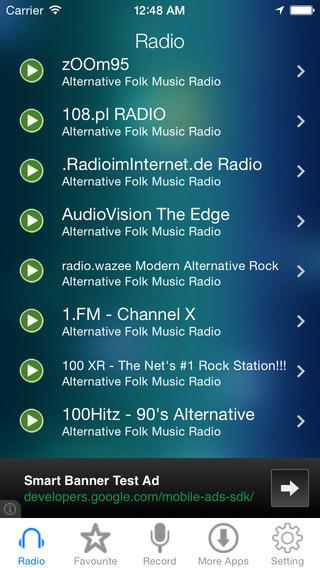 Alternative Folk Music Radio Recorder