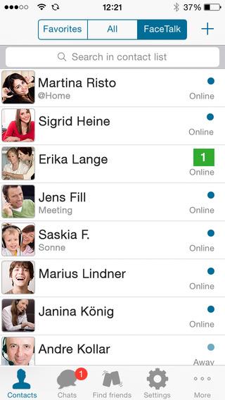 FaceTalk Messenger