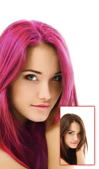 приложение для изменения цвета волос - фото 10