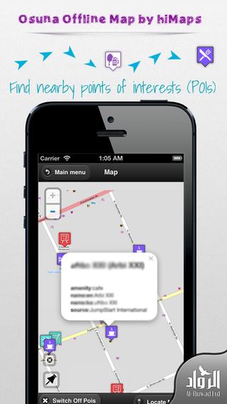Osuna Offline Map by hiMaps
