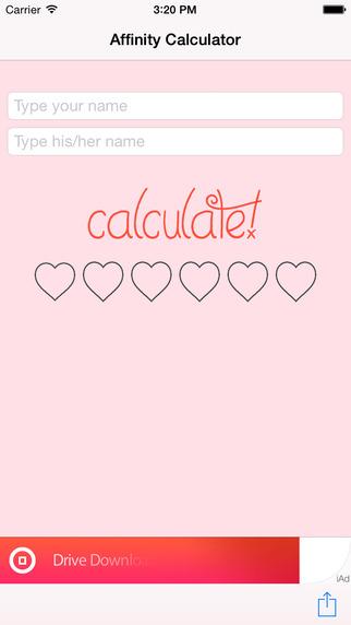 Affinity-Calculator