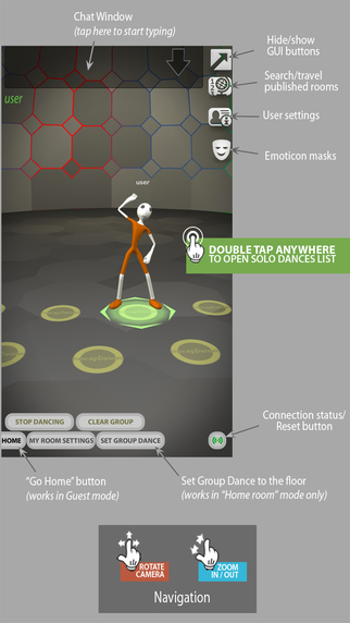 Dance 'em All - 3D Dance Chat