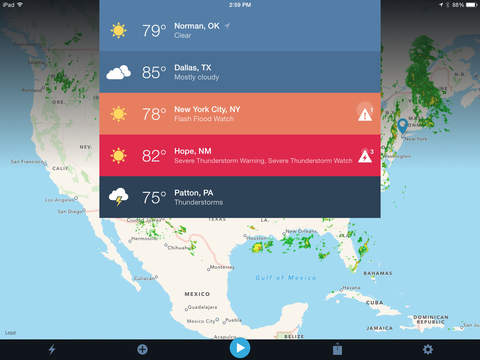 Weather Radio by WDT iPad