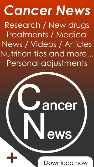 Cancer news reader - research drug directory alternative treatments and medical news for cancer dise