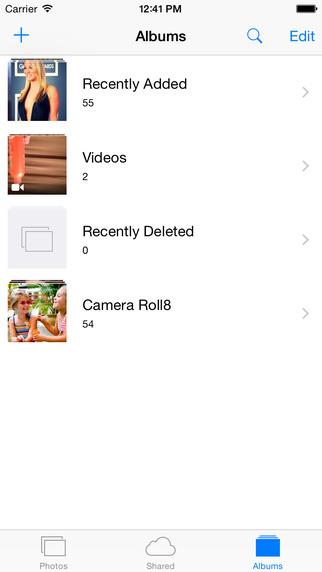 CamRoll - Custom Camera Roll Album for iOS 8