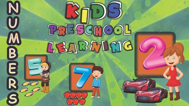 Kids Preschool Learning: Best educational fun schooling game for kids