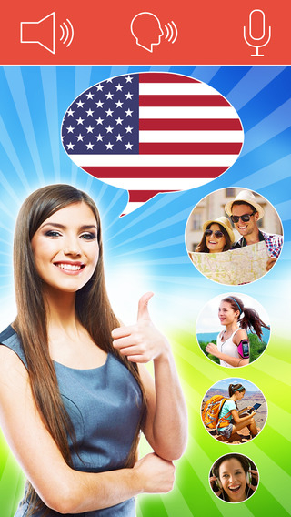 Speak American English FREE - Interactive Conversa
