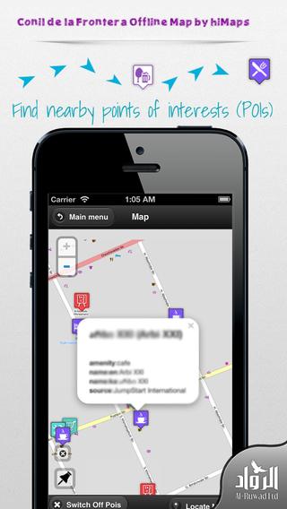 Conil de la Frontera Offline Map by hiMaps