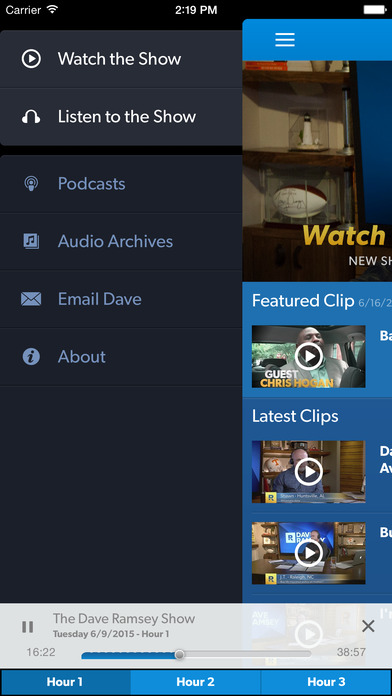 The Dave Ramsey Show 24/7 screenshot 3