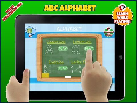 Alphabet First Writer Tracing improves children's alphabet writing Image