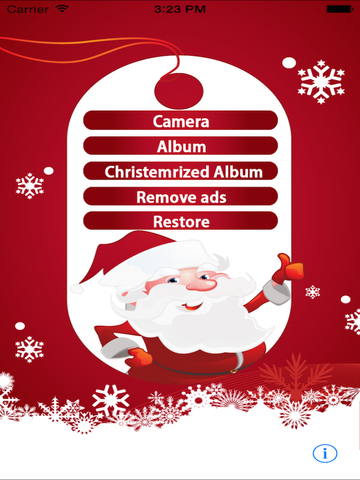 Christmas Cam Ultimate - Best App For Christmas Photo Editing And Effects-ipad-2