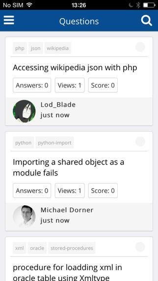 StackOverflow Viewer