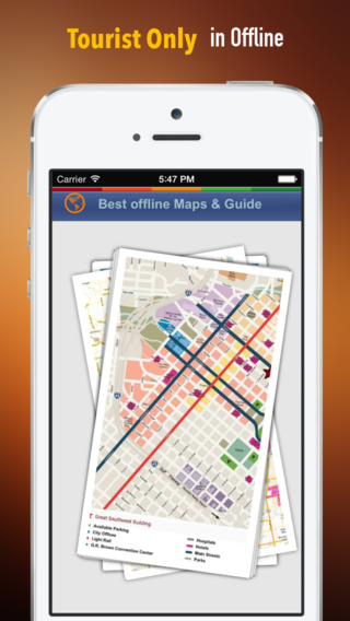 Houston Tour Guide: Best Offline Maps with Street View and Emergency Help Info