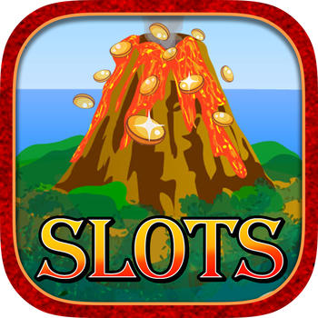 Kilauea Volcano Erruption Slot Machine Pompeii Roman Lucky 777 Spin to Win 1 LOGO-APP點子