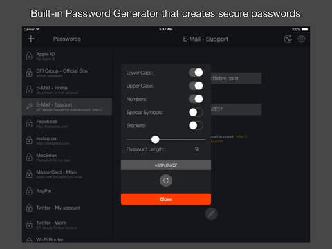 玩免費生產應用APP|下載Black Password Manager for Free app不用錢|硬是要APP