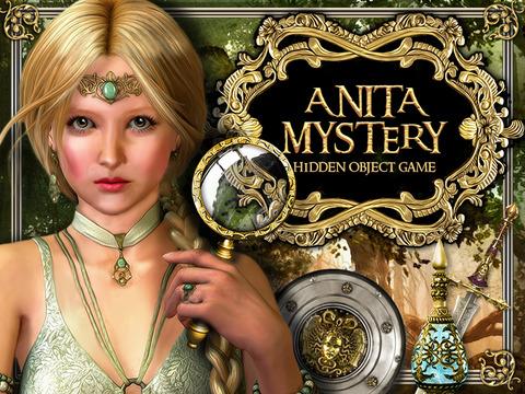 Anita's Hidden Mystery : HIDDEN OBJECT GAME