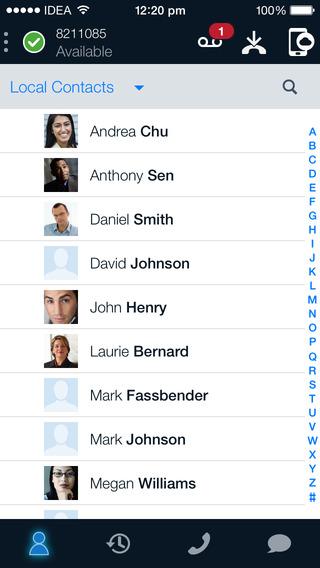 Avaya Communicator for iPhone
