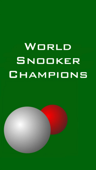 World Snooker Champions