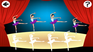 A Ballet Sizing Game: Learn and Play for Children with a Prima Ballerina