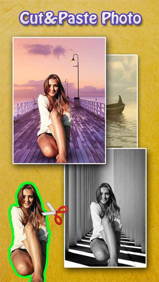 Cut Paste Photo Blender - Background Eraser to Chop Superimpose Yr Selfie