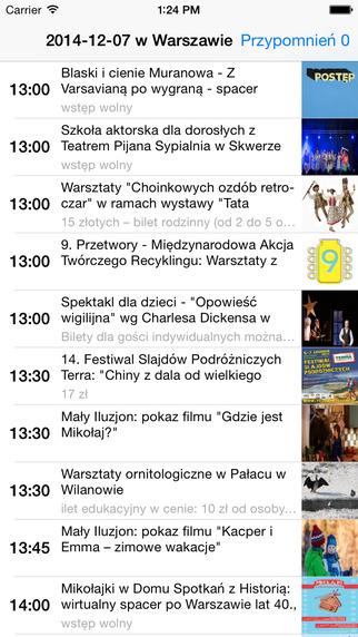 Kulturalna Warszawa - wydarzenia z oficjalnych stron urzędu miasta