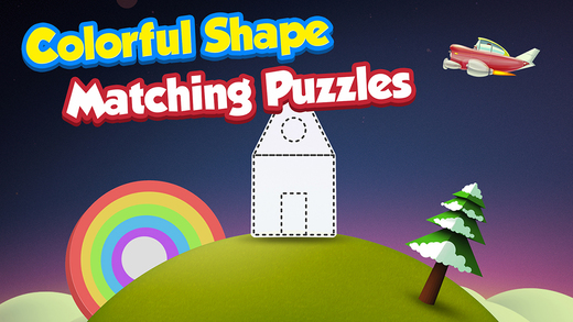 Shape Puzzle Saga : Learn about Shape Size Jigsaw for Preschool Kindergarten Age Kids FREE