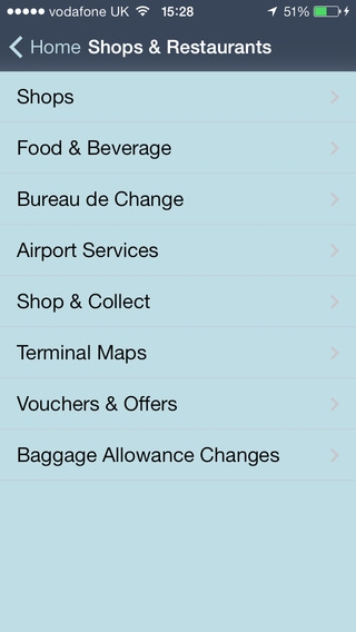 Stansted iPhone Screenshot 3