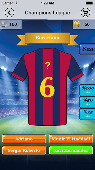 Guess Football Player - Jersey Quiz