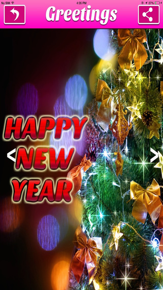 New Year Greeting Cards HD
