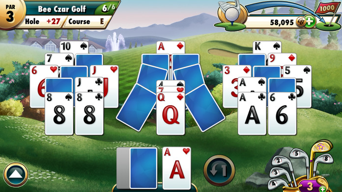 Fairway Solitaire by Big Fish - iPhone Mobile Analytics and App Store Data