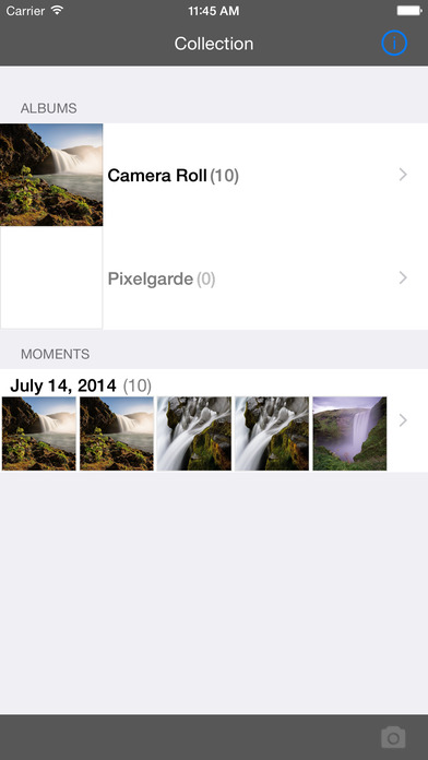 Pixelgarde Photo Privacy Editor - Free iPhone Screenshot 1