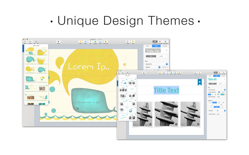 Fuel for Keynote Lite Screenshot - 4