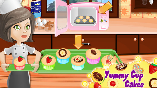 Real Cup Cake Maker 2015