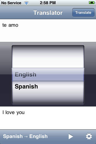 English Spanish Translator with Voice screenshot 2