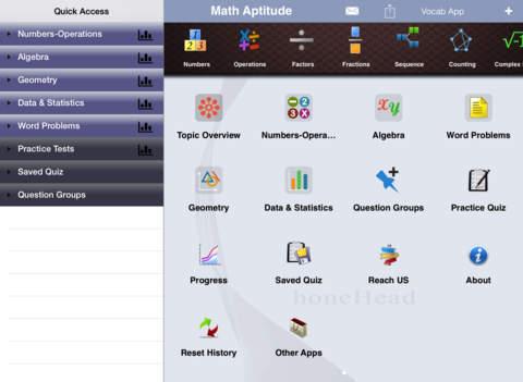 GMAT Math Aptitude iPad Screenshot 1