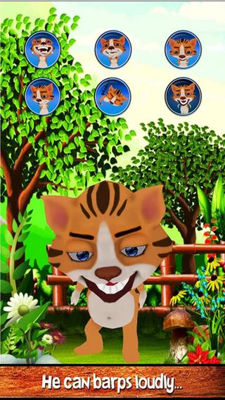 Talking Baby Tiger - Free