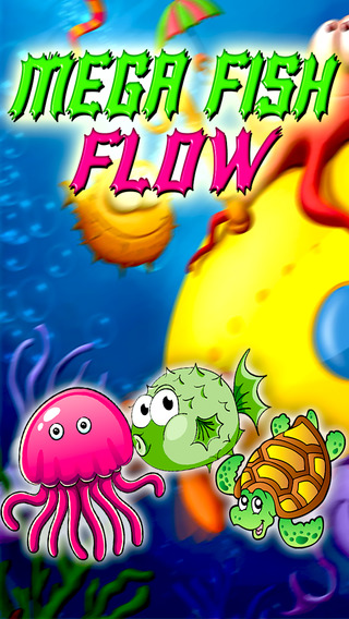 Mega fish flow : Catch the same pair of fish connect them fun out of water