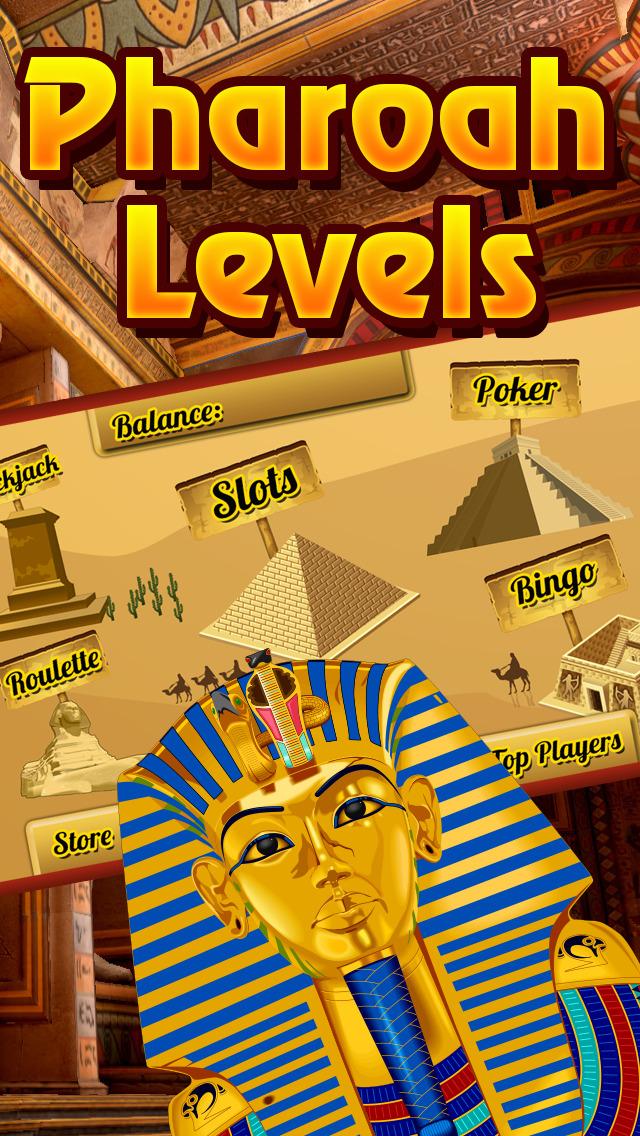 Screenshot 2 Все наличными фараона Игры казино HD — Джекпот Путешествие Путь Fun и слот-машины Рич-эс Бесплатный