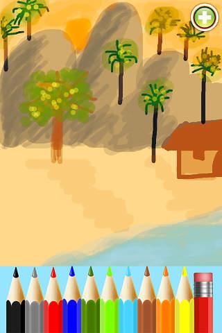Screenshot 1 Draw Color : Colors of life
