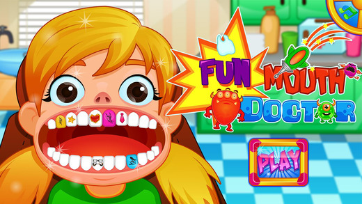 Fun Mouth Doctor Funny Dentist Game for Kids