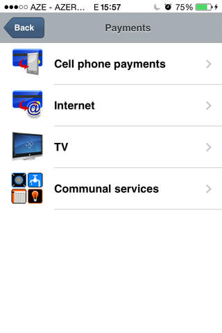 AtraBank MobilBank screenshot 2