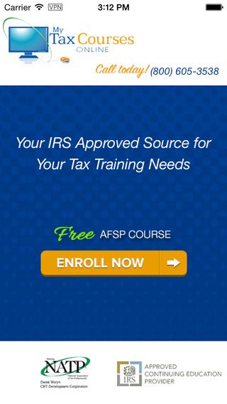 AFSP – IRS Annual Filing Season Program