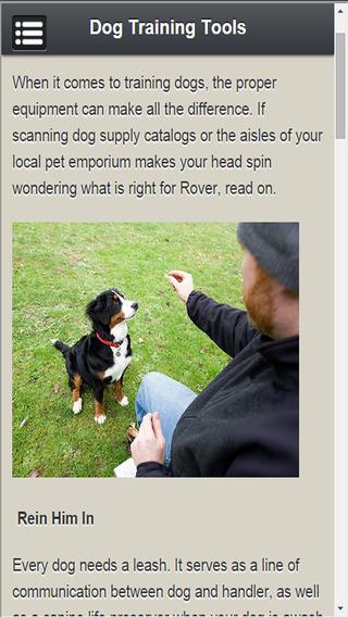 Dog Training Aid
