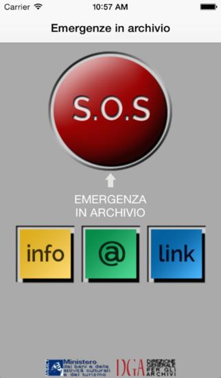 Emergenze in archivio