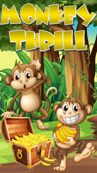 Monkey Thrill - Fun Kids Tap Game