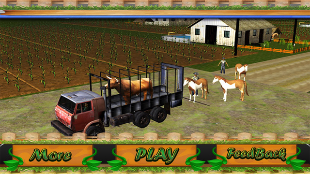Transport Truck: Farm Animals and Cattles