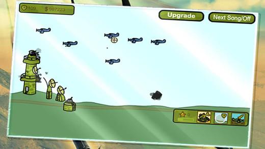 Air Battle - Defense Game