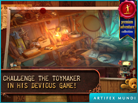 Deadly Puzzles: Toymaker HD - Hidden Object Gamescreeshot 1