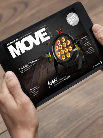 MOVE - Das Steinigke Showtechnic Magazin 01 15